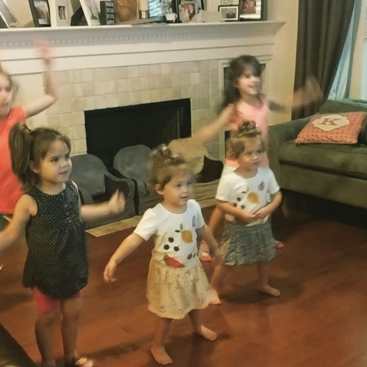 Rainy day dance parties
