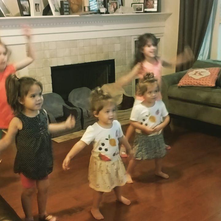 Rainy day dance parties