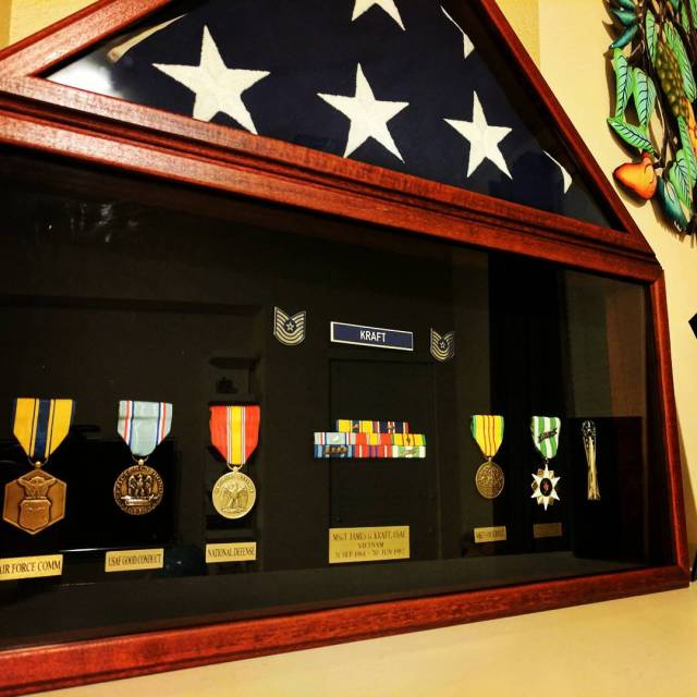 <span class='p-name'>It only took me 20 years to finally put together a flag case and shadow box for my dad. I still miss him</span>