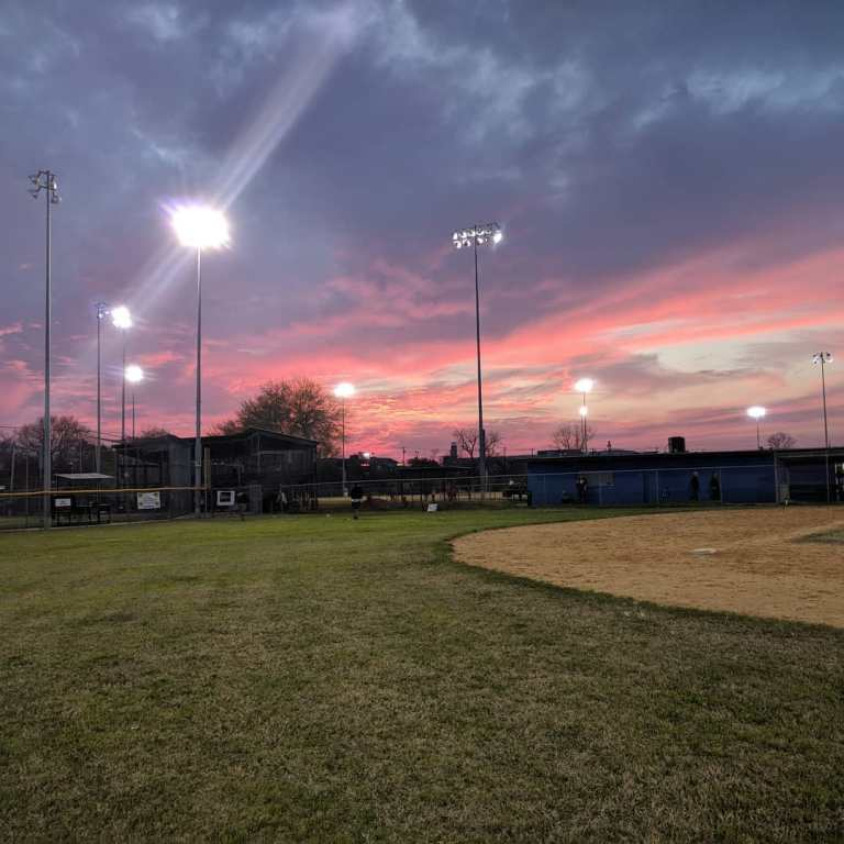 From practice the other night. I've never played baseball but I'm enjoying the hell out of coaching these kids. This is my happy place of late
