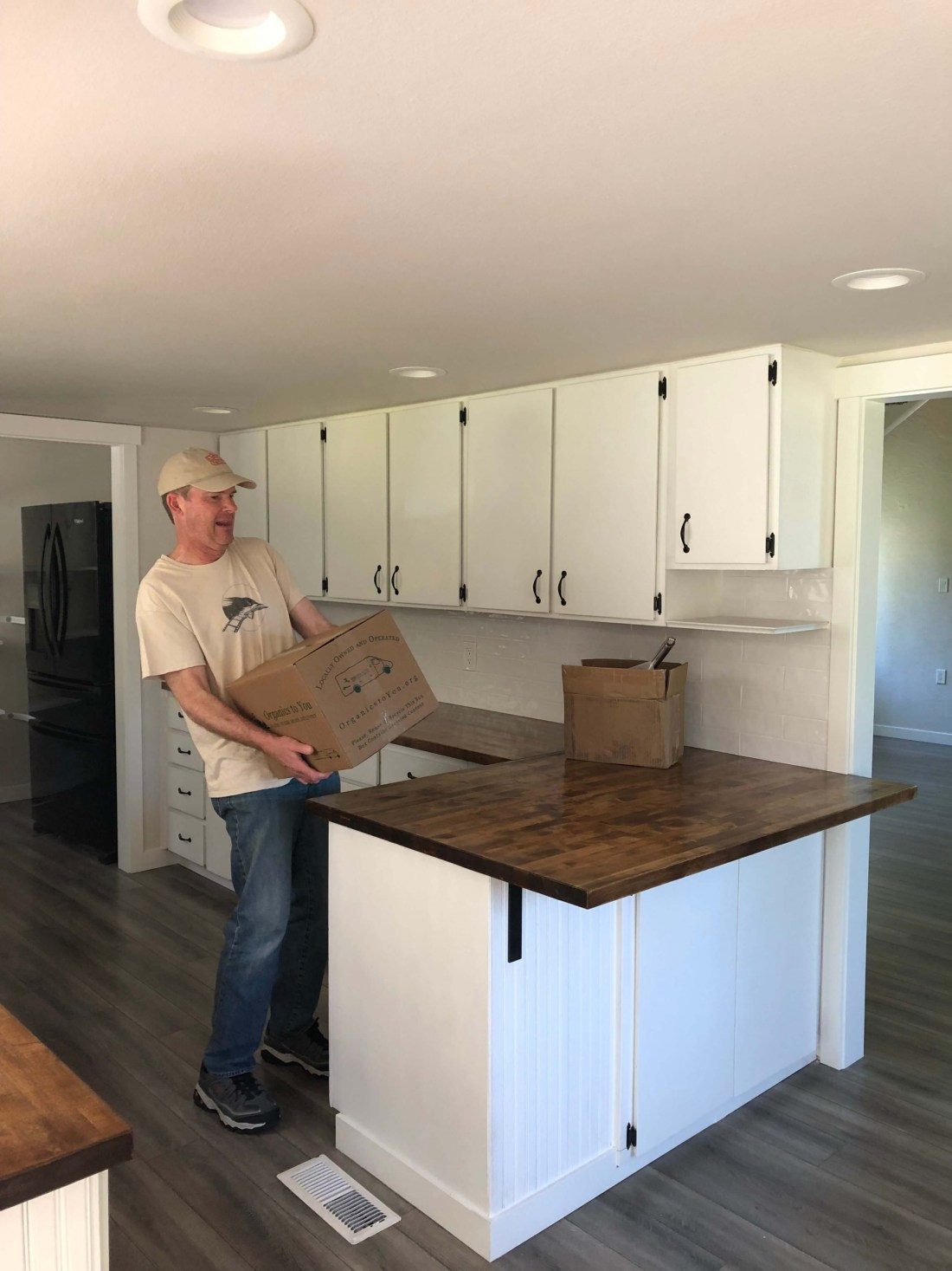 Kitchen move-in