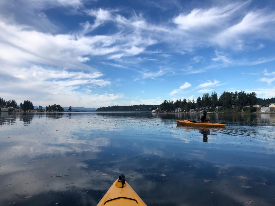 First kayak