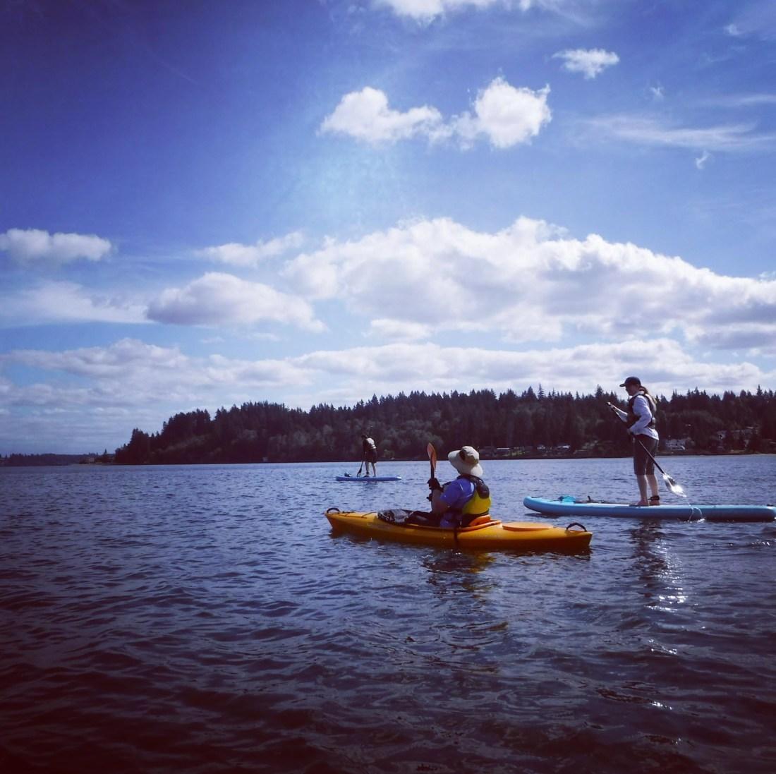 Paddling Totten Inlet