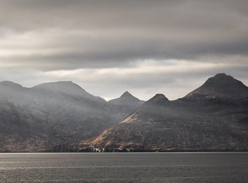 Isle of Rum Rays