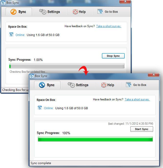 梅問題-免費資源-Box Sync桌面同步工具讓備份/上傳檔案更緊密