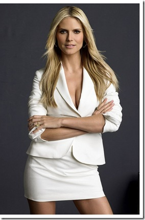PROJECT RUNWAY -- Pictured: Heidi Klum -- Bravo Photo: Mark Abrahams