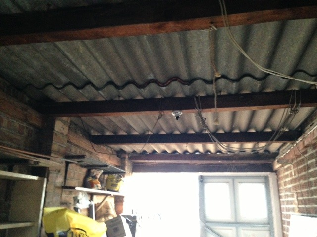 Fireplace And Chimney Removal Cost Removal Of Asbestos Garage Roof-1930 Semi Detached