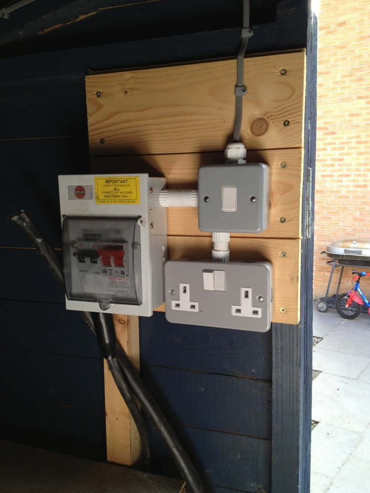Remove Mains Connection From Garden Shed