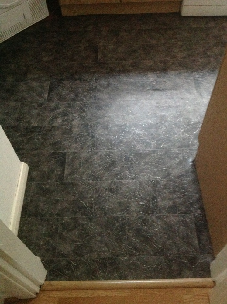 Kitchen and small downstairs toilet vinyl flooring  Carpet  Lino job in Nottingham