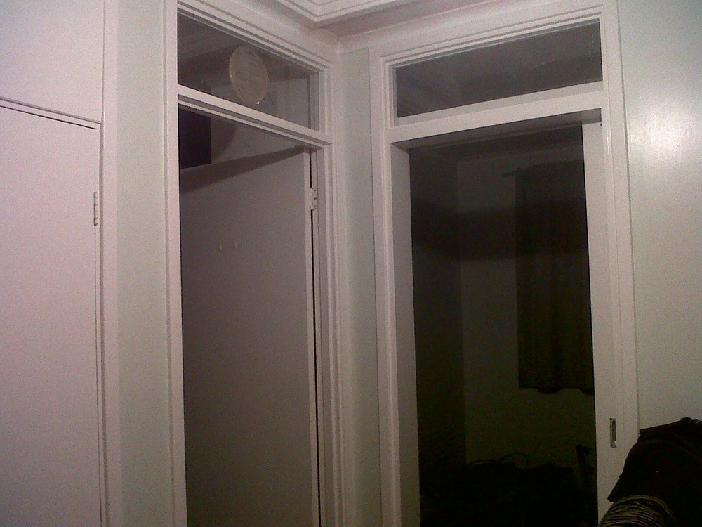 Remove glass panels above doors and fill in  Carpentry job in Wokingham Berkshire  MyBuilder