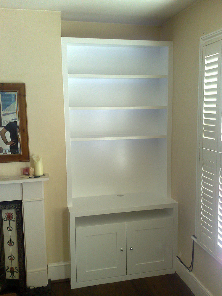 Alcove Cupboard and Floating Shelves  Joinery  Cabinet