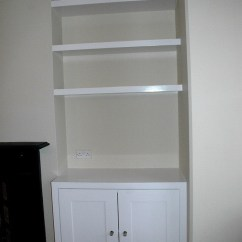 Kitchen Cabinet Cost Crystal Island Lighting Alcove Cupboard And Floating Shelves - Carpentry & Joinery ...