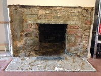 Opening up of fireplace - Chimneys & Fireplaces job in ...