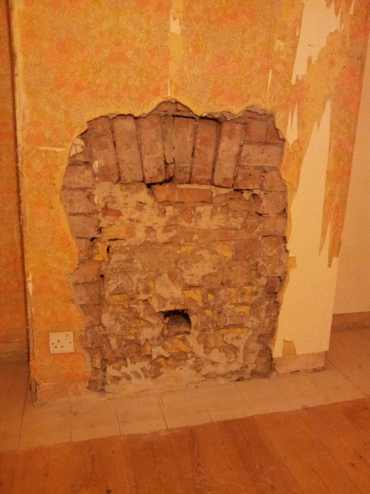 How To Build In A Gas Fireplace Repair Brick Arch Or Fit Lintel And Knock Out Fireplace