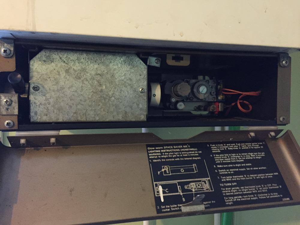 Boiler repair  Glow worm Spacesaver MK II  Central