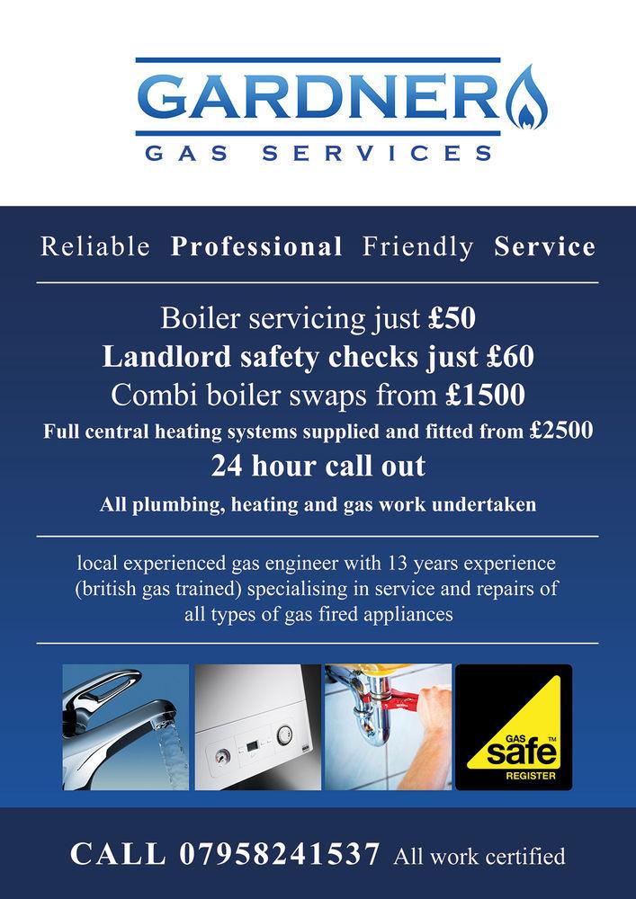 Gardner Gas Services 96 Feedback Gas Engineer Heating