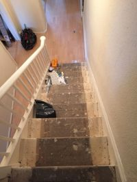 Staircase and small bedroom - Carpet Fitting job in ...
