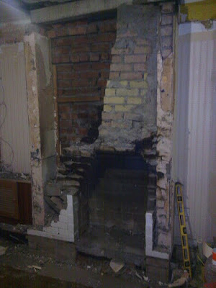 Rebuild chimney breast  Gas Work job in Cardiff South