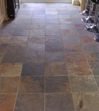 The gallery for --> Rustic Stone Flooring