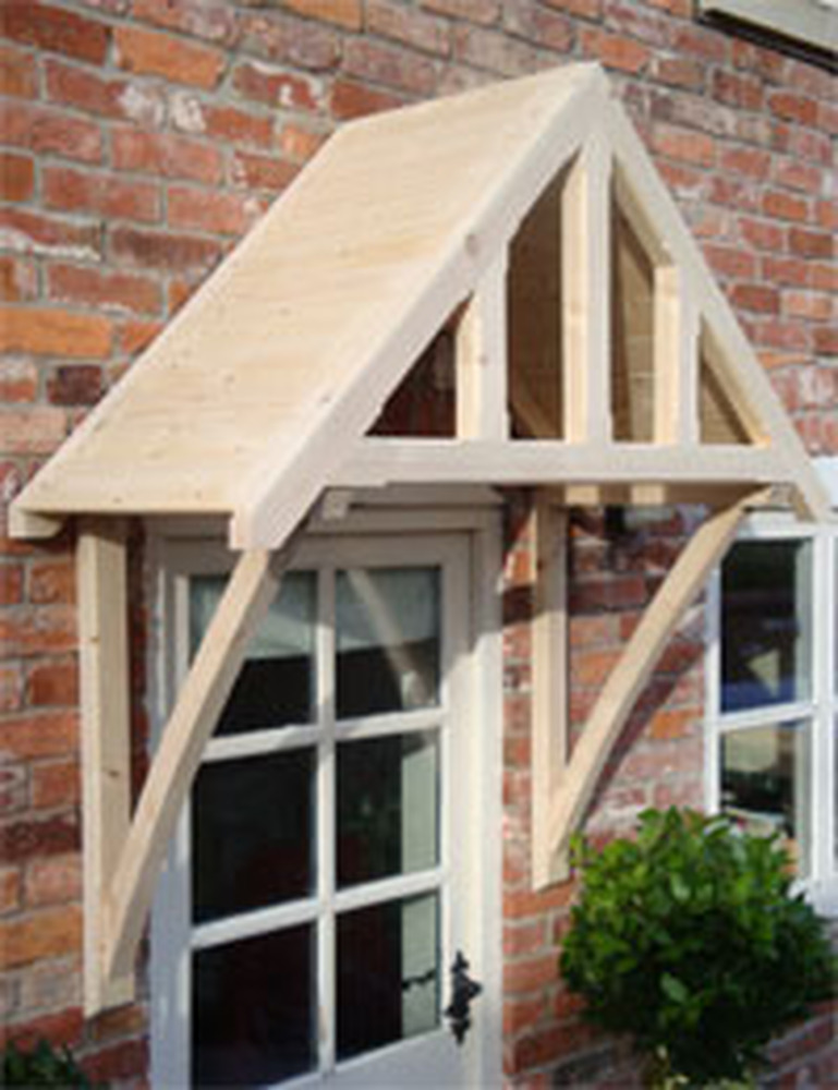 Front door canopy  Joinery  Cabinet Making job in Crawley West Sussex  MyBuilder