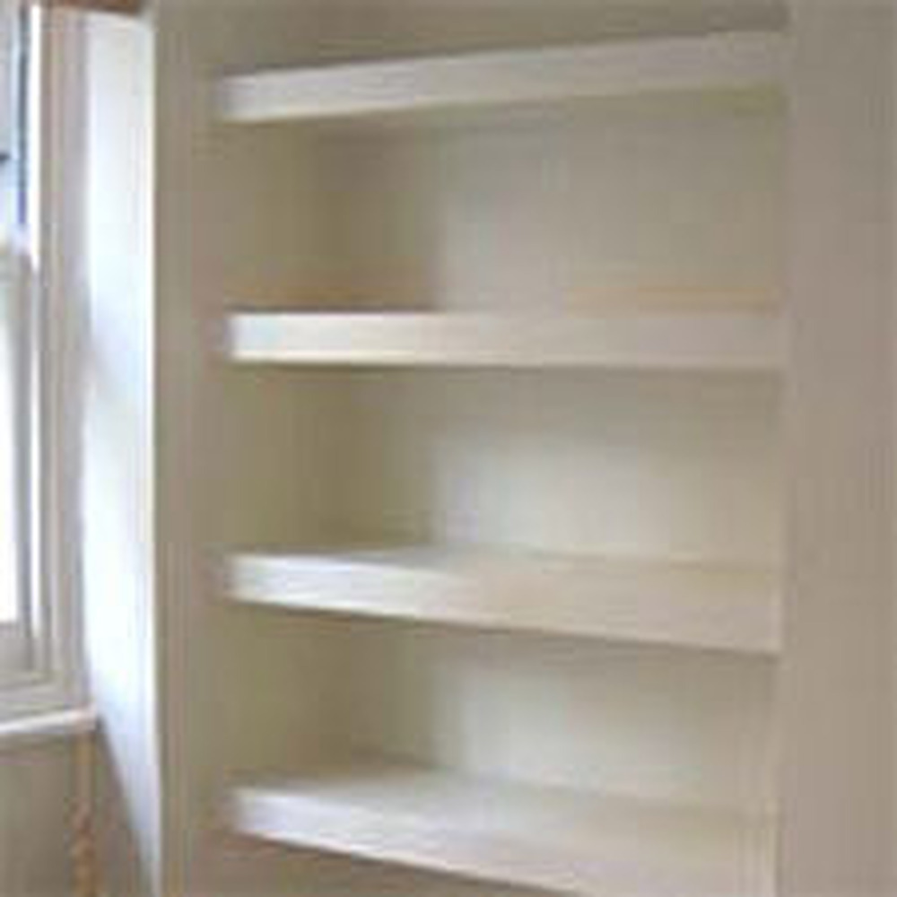 Alcove cupboard  shelves  Carpentry job in Manchester