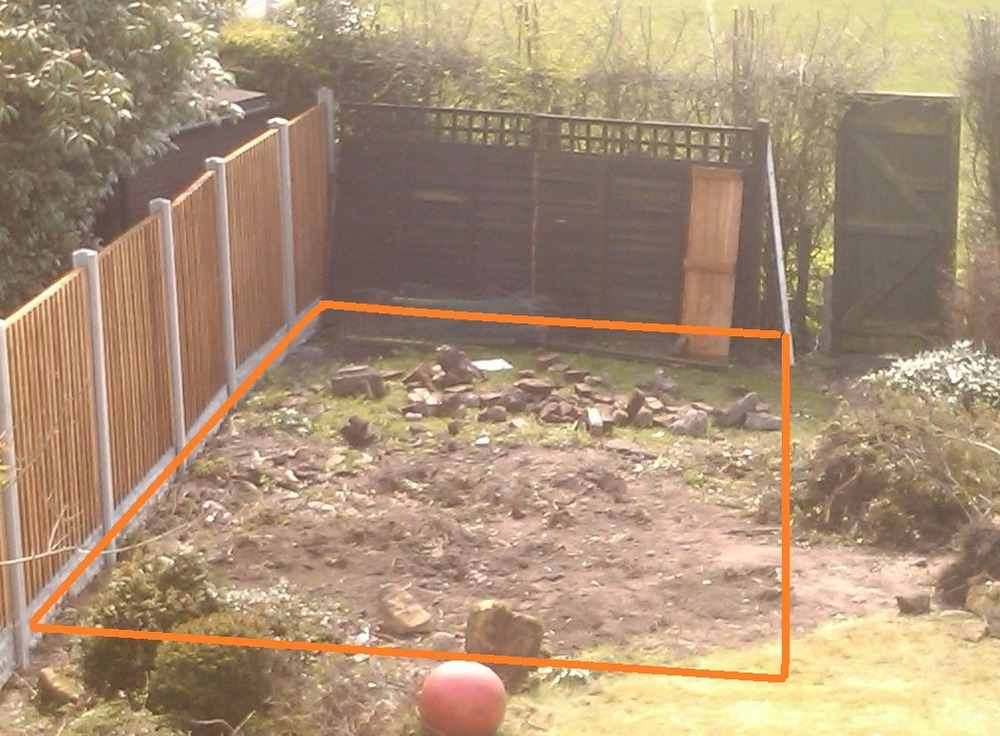 summer house base 20ft by 12ft  Groundwork  Foundations