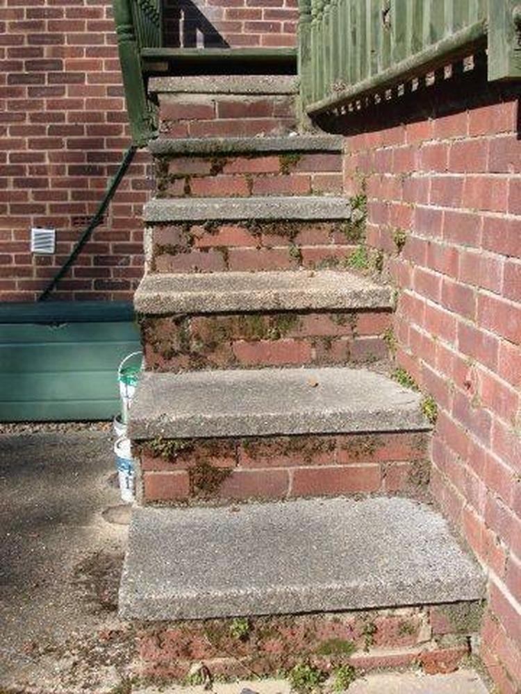 Brick steps  Bricklaying job in Southampton Hampshire