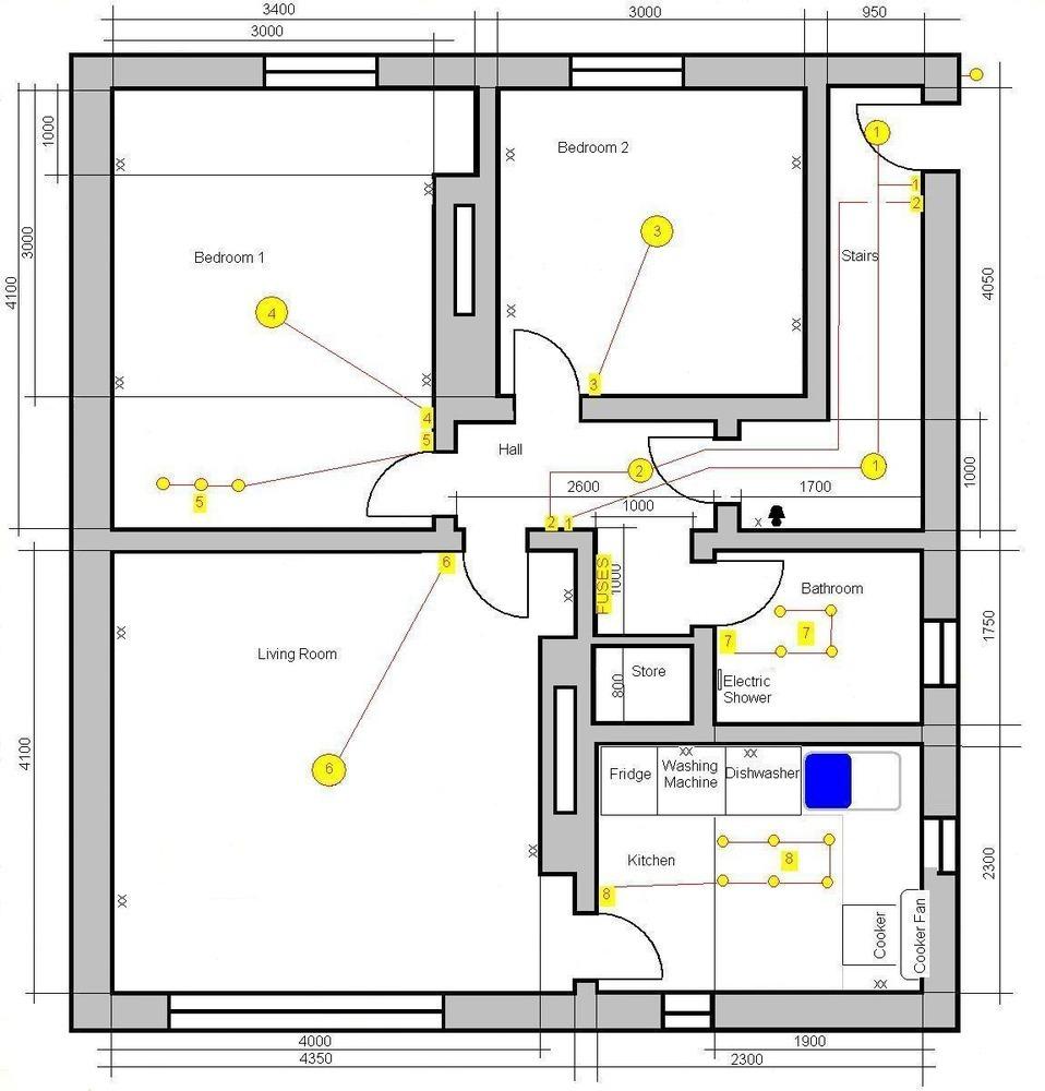 Bedroom Electrical Wiring Diagram Memsaheb Net