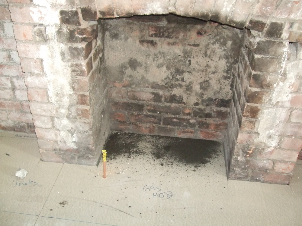 Fit new lintel into chimney breast and extend opening  Restoration  Refurbishment job in