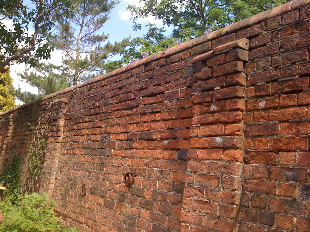 Repoint and repair victorian garden wall  Repointing job