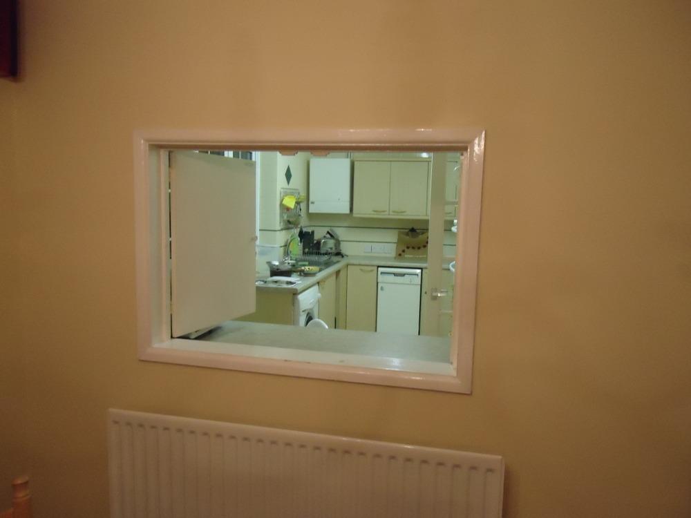 Fill in hatch between kitchen and diningroom  Plastering job in Salisbury Wiltshire  MyBuilder