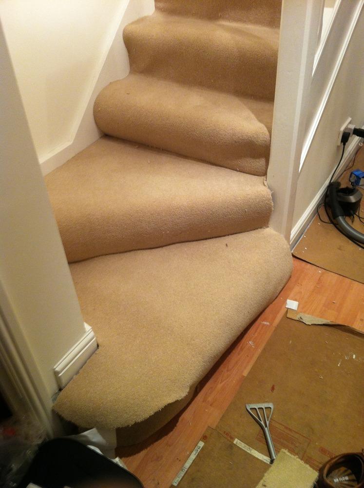 runners kitchen backsplash tile stair carpet fitting - denton job in ...