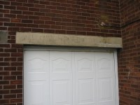 Replace garage door lintel - Bricklaying job in Preston ...