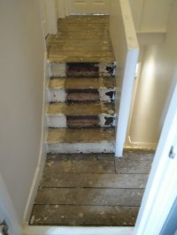 Carpet fitting and flooring work on the stairs - Carpet ...