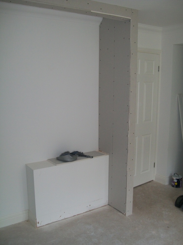 Plaster small stud wall  Plastering job in Brentwood Essex  MyBuilder