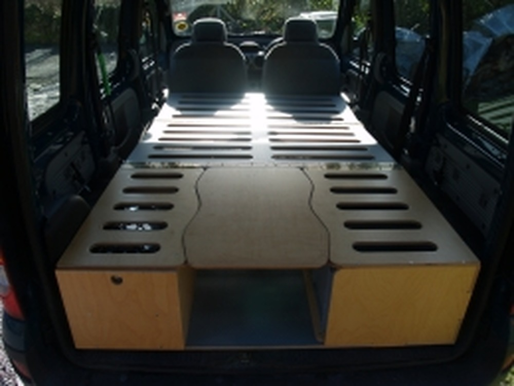 kitchen builder sinks for kitchens small van camper conversion made from wood - carpentry ...