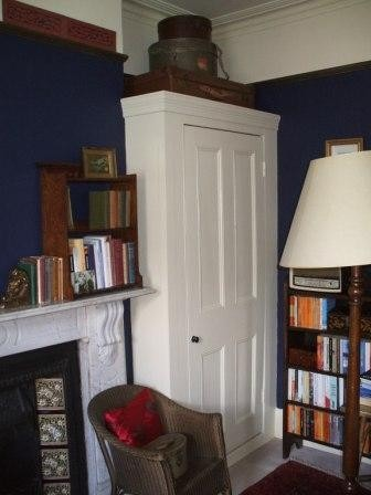 Victorian style fitted wardrobes and alcove cupboards