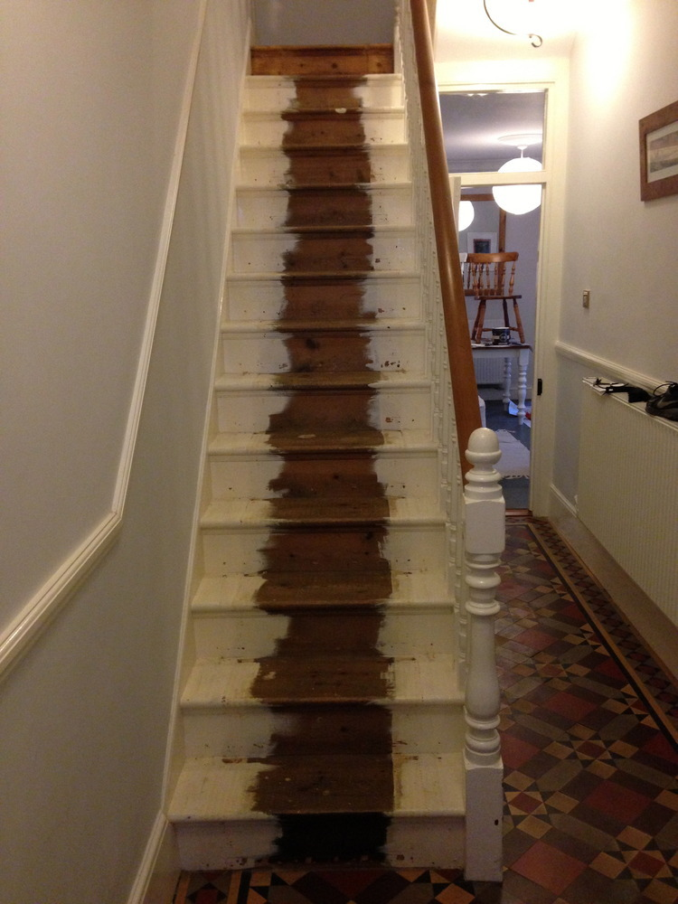 Sand down a Victorian staircase  Carpentry  Joinery job