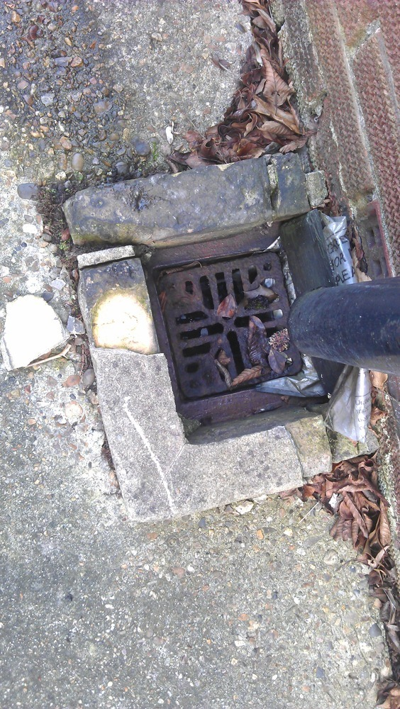 3 x Drain Gully repair and restoration  Groundwork