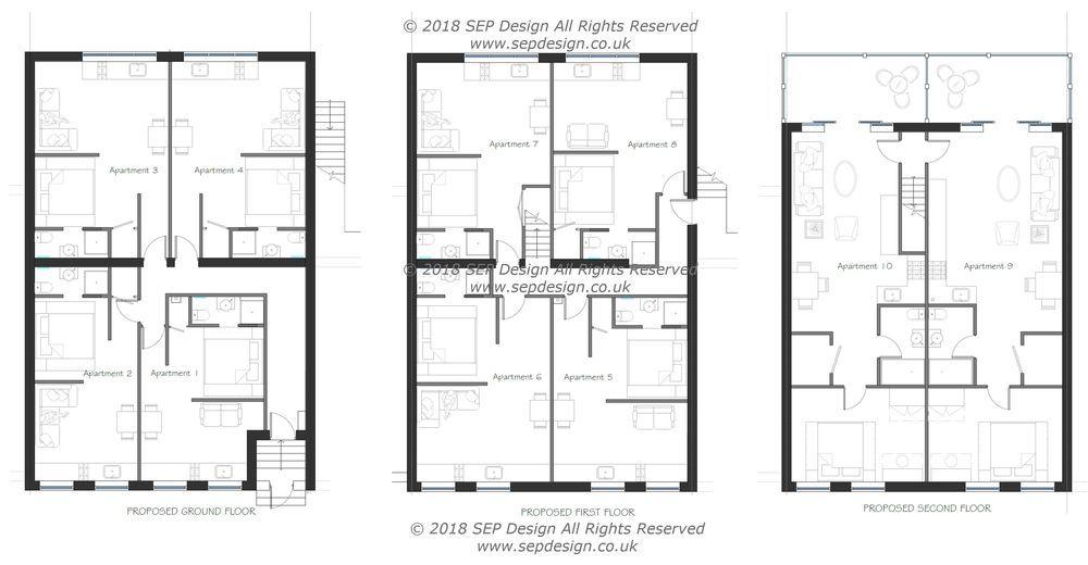 SEP Design: 95% Feedback, Architectural Designer, CAD