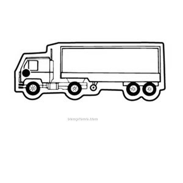 Semi Truck: Semi Truck Outline