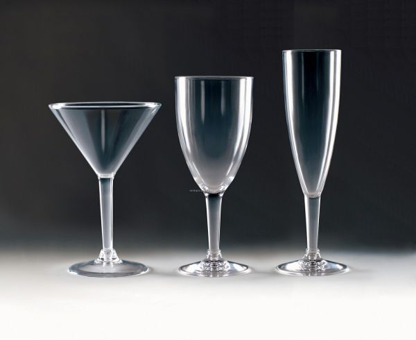 Acrylic Champagne Flute- Laser Engraved China