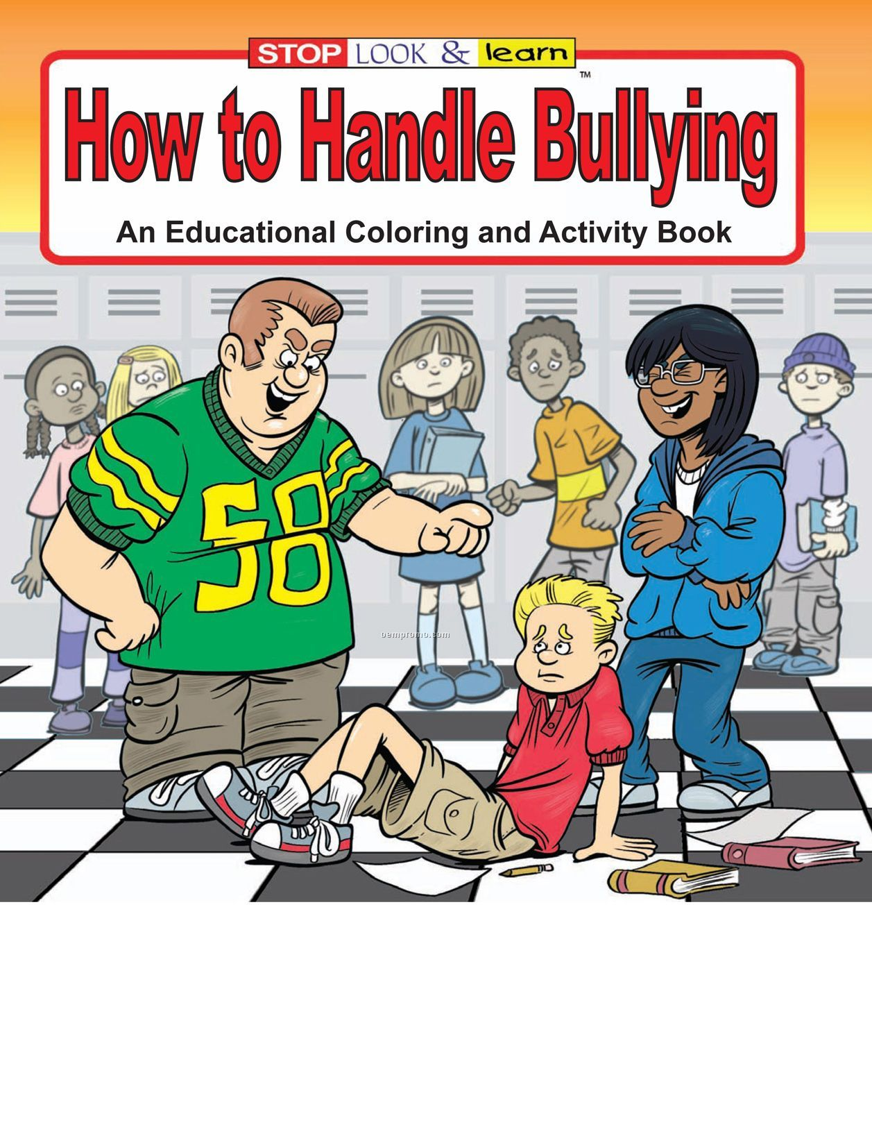 How To Handle Bullying Coloring Book Fun Pack China