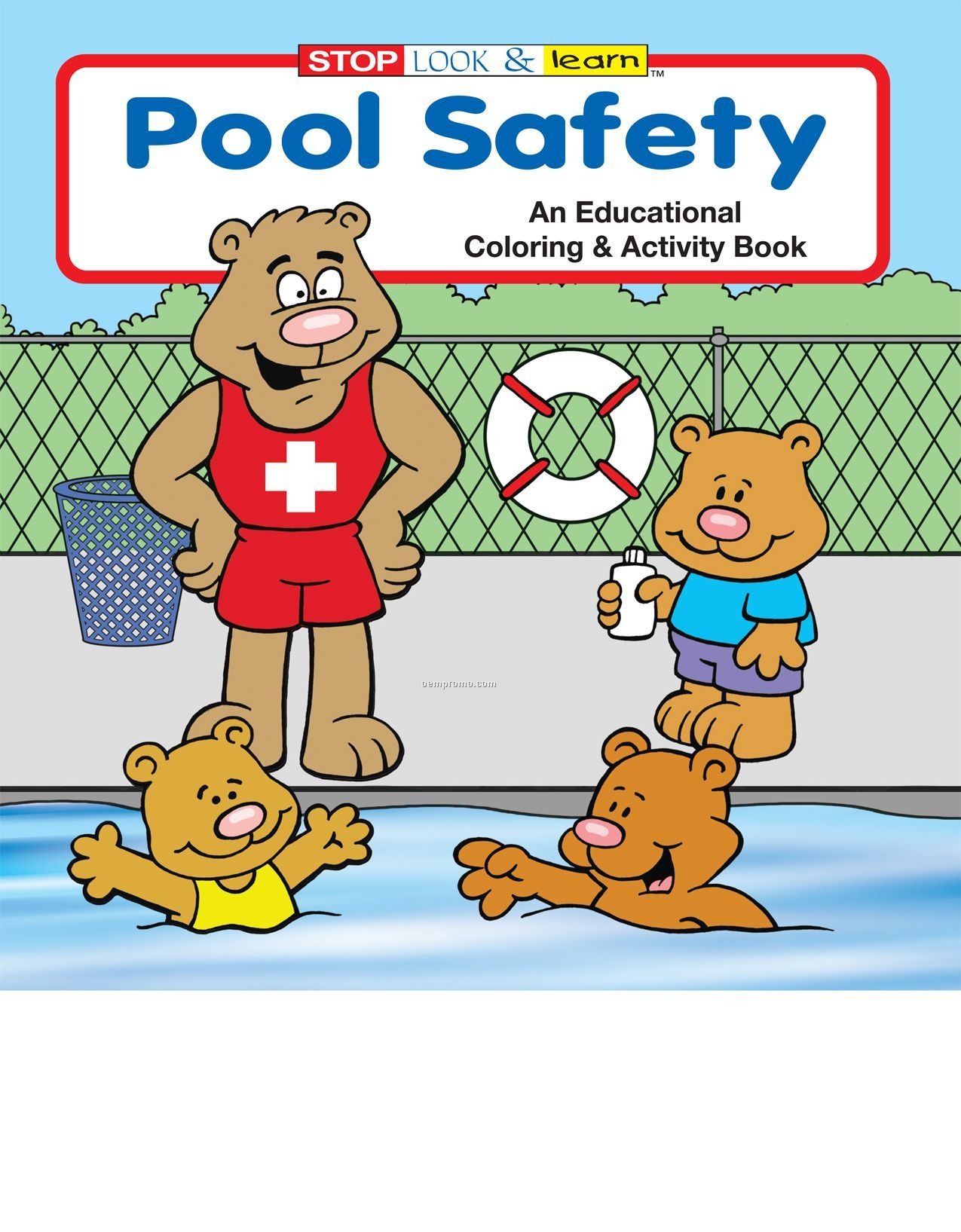 Pool Safety Coloring Book China Wholesale Pool Safety