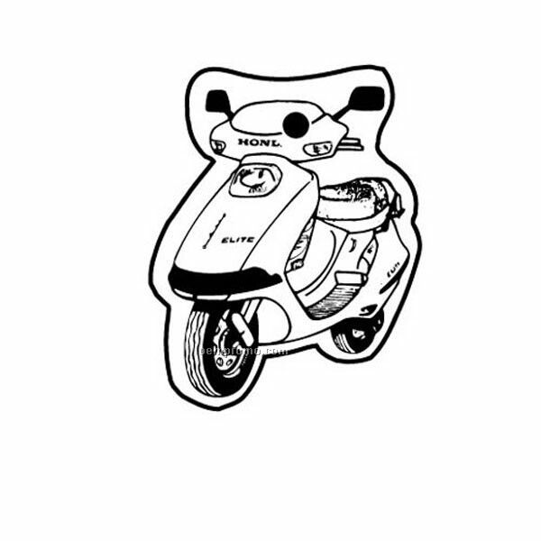 Stock Shape Collection Motor Scooter Key Tag,China