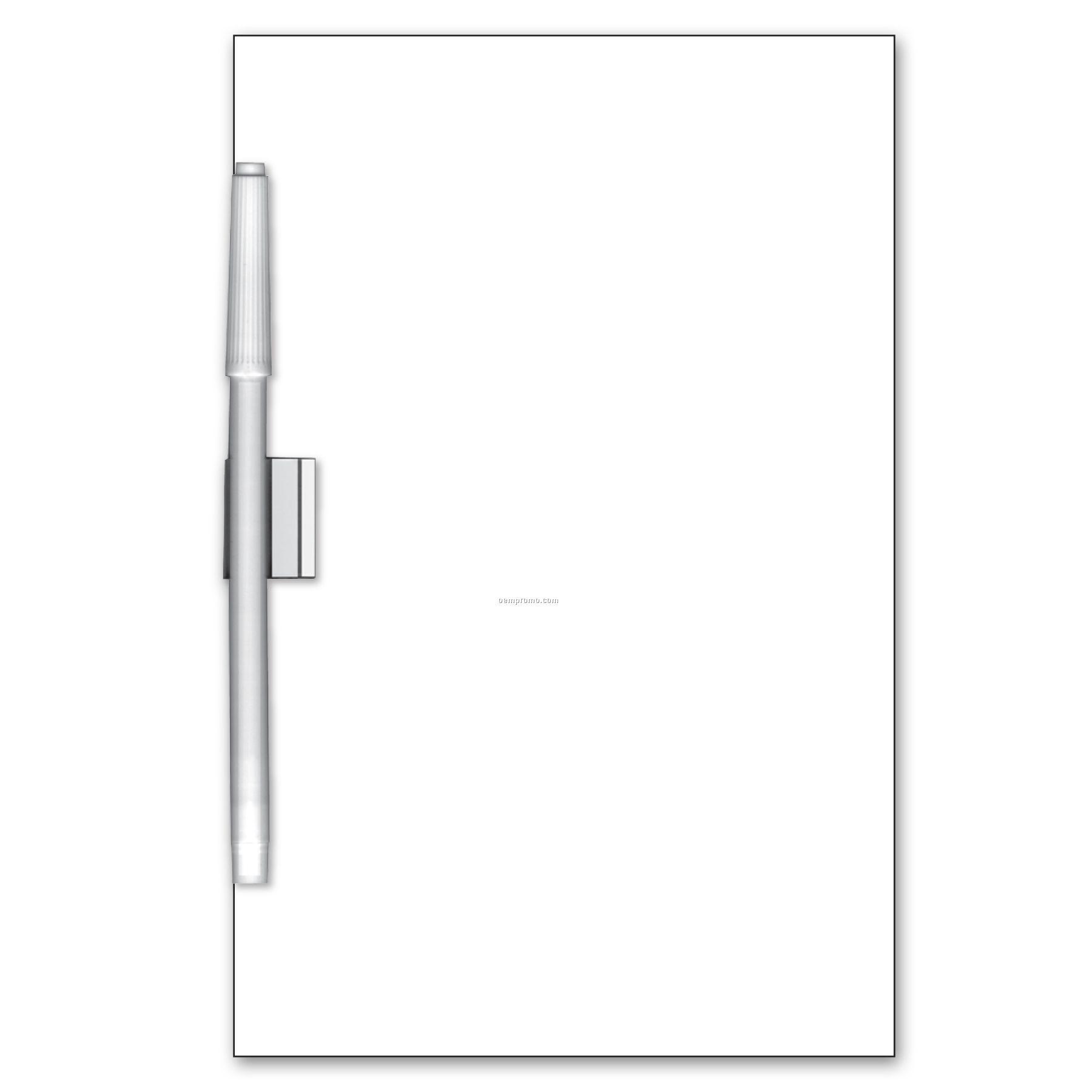Write On/ Wipe Off Rectangle Shape Memo Board,China