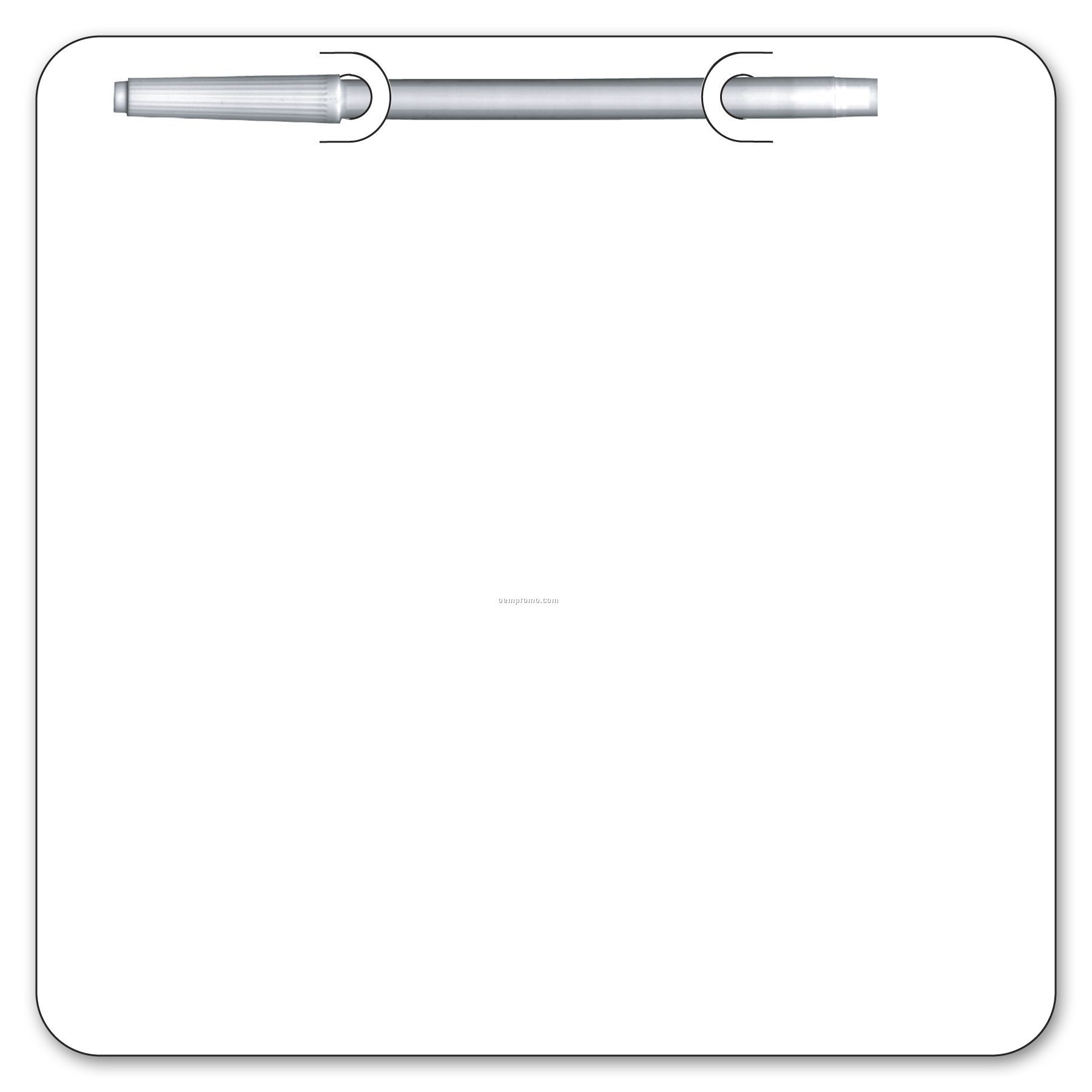 Write On/ Wipe Off Square Shape Memo Board,China Wholesale