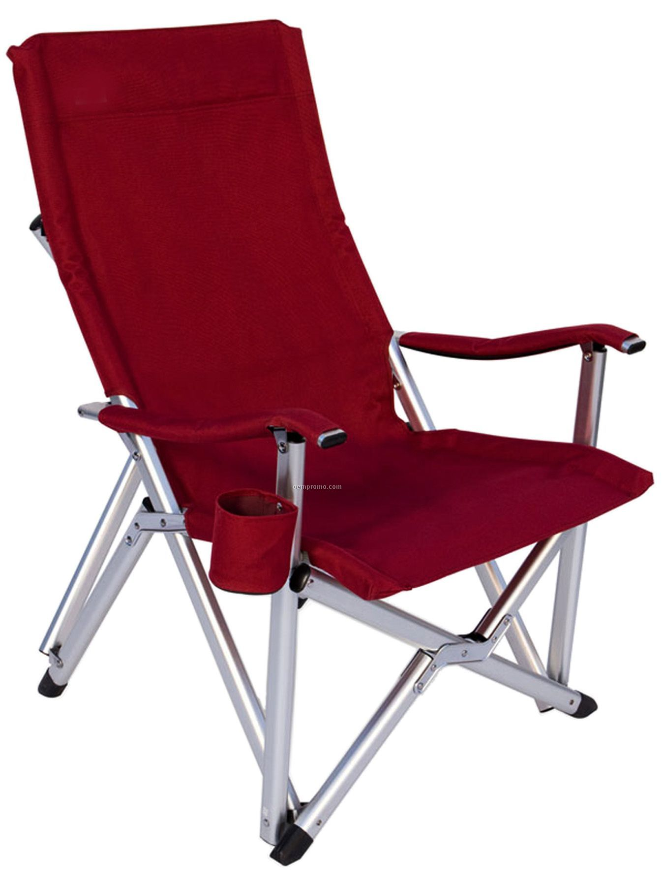 Folding Arm Chair Imported Deluxe Folding High Back Aluminum Arm Chair W 375