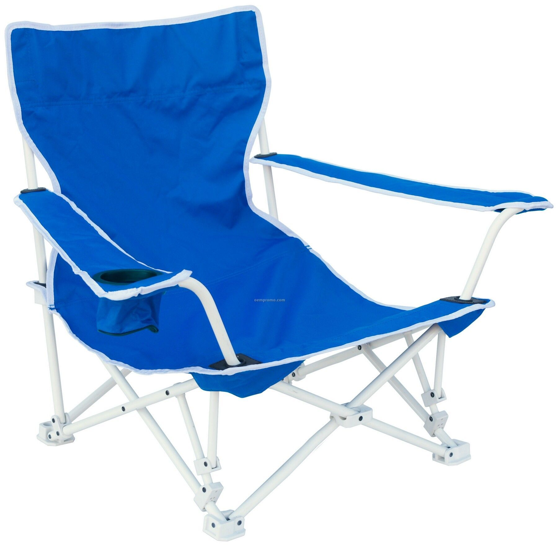 Direct Import Deluxe Folding Beach Chair With Carry Bag