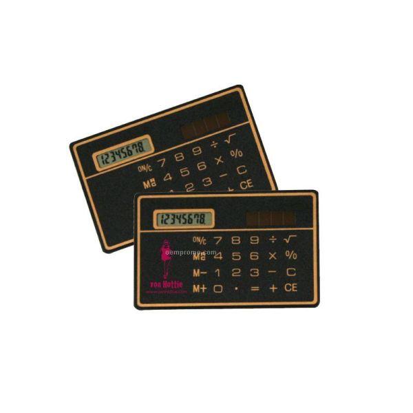 Credit Card Pocket Size Solar Calculator China